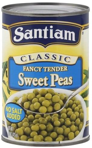 Santiam Fancy Tender Sweet Peas - 15 oz