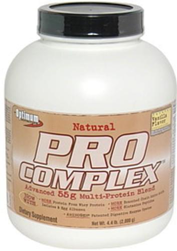 Optimum Nutrition Natural Vanilla Advanced 55g Multi-Protein Blend - 4.4 lb