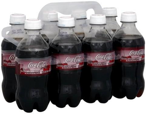 Coca Cola with Cherry Flavor Cola - 8 ea