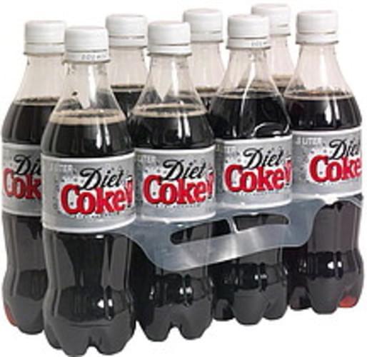 Diet Coke Cola - 8 ea