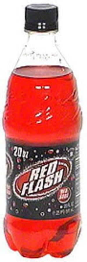 Red Flash Red Soda - 20 oz