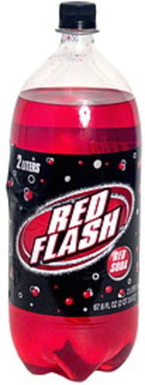 Red Flash Red Soda - 67.6 oz