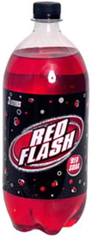 Red Flash Red Soda - 101.4 oz