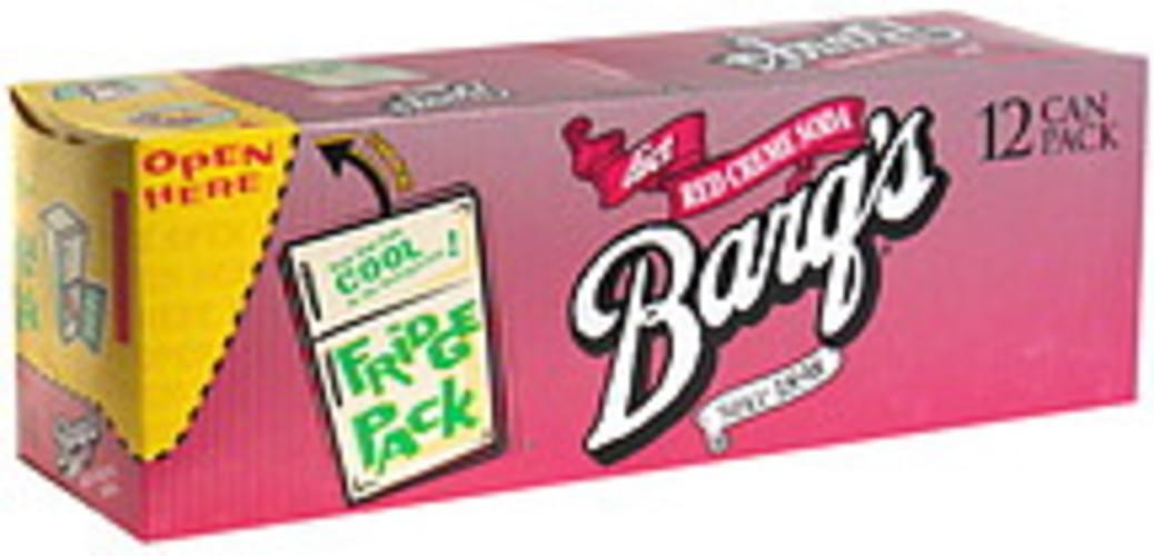 Barqs Diet, Fridge Pack Red Creme Soda - 12 ea
