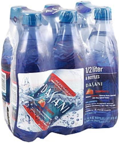 Dasani Natural Strawberry Flavored