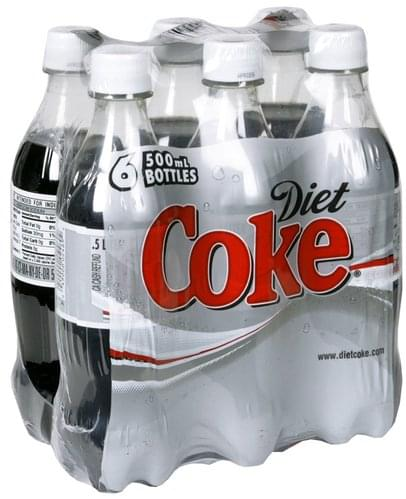 Diet Coke Cola - 6 ea