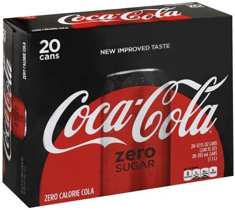 Coca Cola Cola - 20 ea