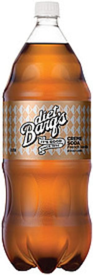 Barq's Diet French Vanilla Contour Creme Soda - 2 l