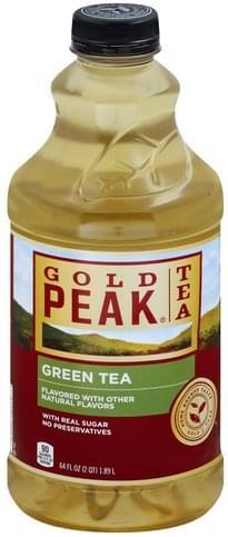 Gold Peak Green Tea - 64 oz, Nutrition