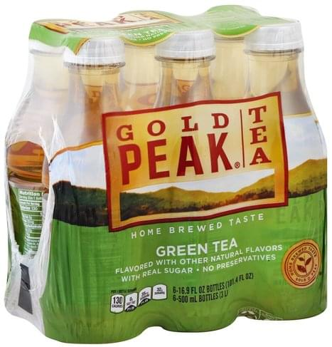 Gold Peak Green Tea - 6 ea, Nutrition