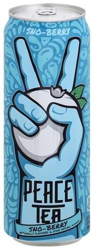 Peace Tea Sno-Berry Tea - 23 oz