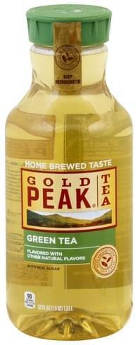 Gold Peak Green Tea - 52 oz, Nutrition