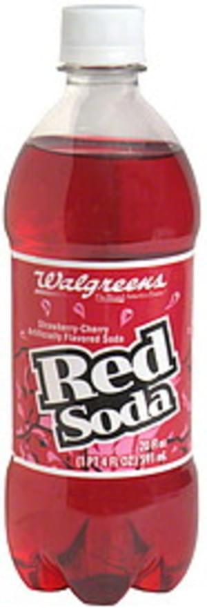 Walgreens Red Soda - 20 oz