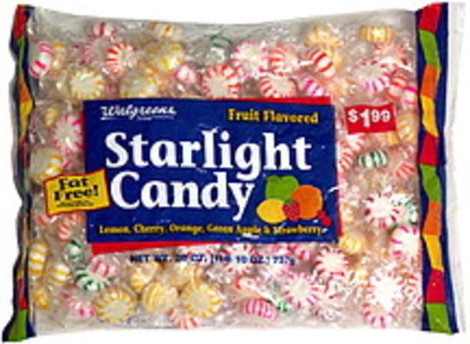 Walgreens Fruit Flavored, Pre-Priced Starlight Candy - 26 oz