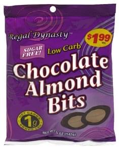 Regal Dynasty Sugar Free Chocolate Almond Bits Pre-Priced