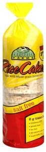 Deerfield Farms Rice Cakes Salt Free