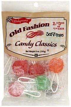 Walgreens Saf-T-Pops Candy Classics - 5 oz, Nutrition
