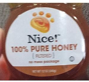 Nice! 100% Pure Honey Filtered