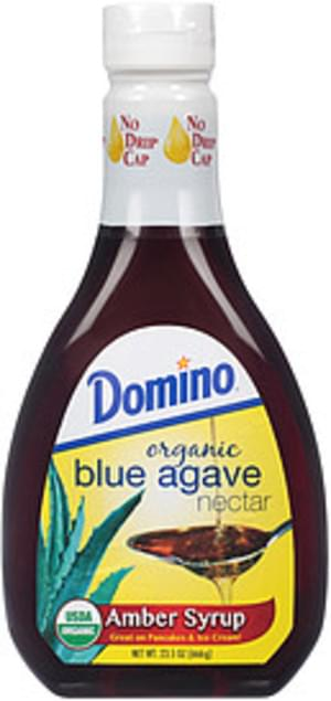 Domino Organic Blue Amber Agave Nectar Syrup - 23.5 oz