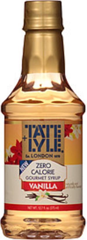 Tate & Lyle Vanilla Zero Calorie Syrup - 12.7 oz