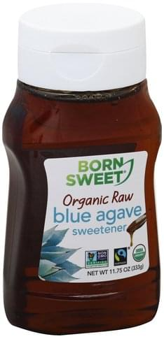 Born Sweet Organic, Blue Agave, Raw Sweetener - 11.75 oz