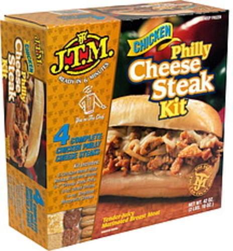 JTM Philly Cheese Steak Kit, Chicken - 42 oz