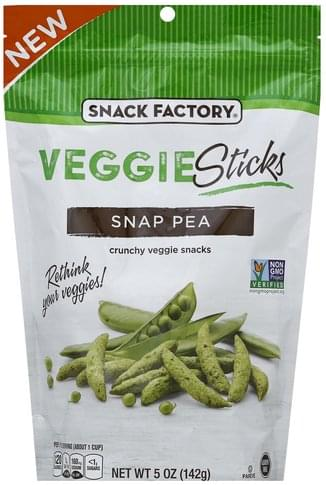 Snack Factory Snap Pea Veggie Sticks - 5 oz