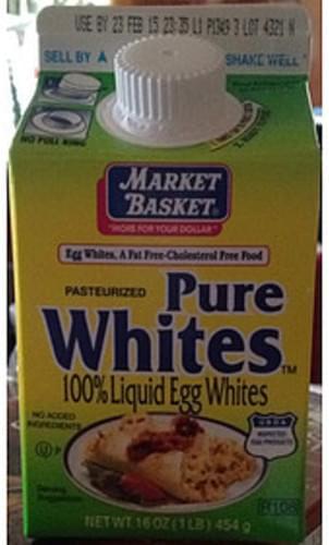 Market Basket Pure Whites Liquid Egg Whites - 46 g