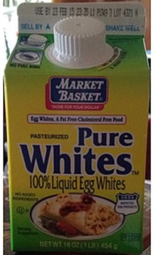 Market Basket Pure Whites Liquid Egg Whites - 46 g