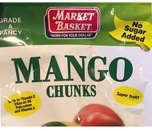 Market Basket Mango Chunks