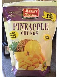 Market Basket Pineapple Chunks
