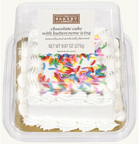 Remarkable The Bakery At Walmart With Buttercreme Icing Chocolate Cake 9 87 Personalised Birthday Cards Paralily Jamesorg