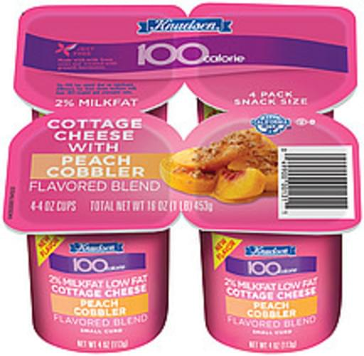 Miraculous Knudsen 100 Calorie Peach Cobbler Small Curd 2 Milkfat 4 Oz Download Free Architecture Designs Rallybritishbridgeorg
