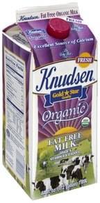 Knudsen Milk Fat Free, Organic