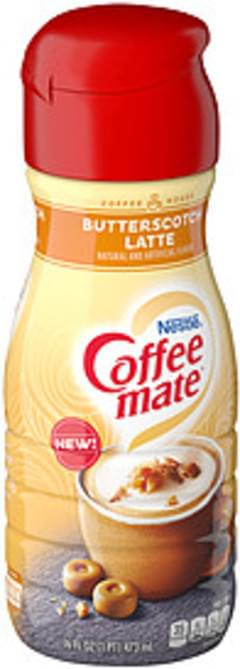 Nestle Coffee Mate Coffee Mate Coffee House Butterscotch Latte Liquid Coffee Creamer Coffee House Butterscotch Latte Liquid