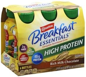 Carnation Complete Nutritional Drink High Protein, Rich Milk Chocolate