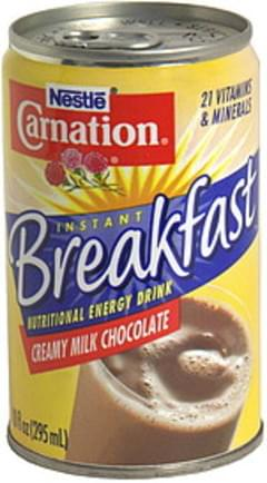 Carnation Nutritional Energy Drink Creamy Milk Chocolate