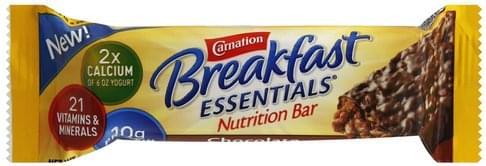Carnation Chocolate Nutrition Bar - 1.76 oz