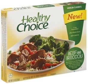 Healthy Choice Beef and Broccoli