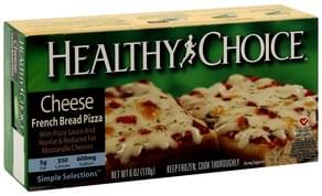 Healthy Choice Pizza French Bread, Cheese