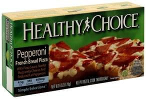 Healthy Choice Pizza French Bread, Pepperoni