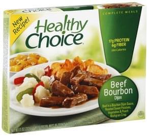 Healthy Choice Beef Bourbon Dijon