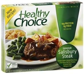 Healthy Choice Homestyle Salisbury Steak