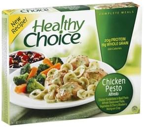 Healthy Choice Chicken Pesto Alfredo