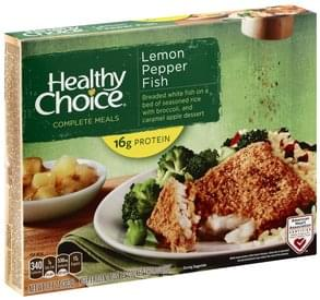 Healthy Choice Lemon Pepper Fish