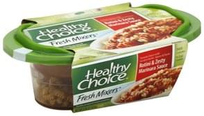 Healthy Choice Rotini & Zesty Marinara Sauce