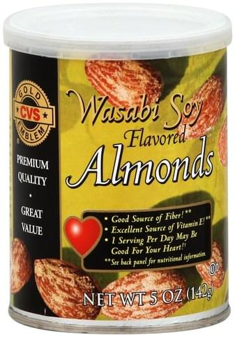 CVS Wasabi Soy Flavored Almonds - 5 oz
