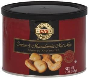 CVS Cashew & Macadamia Nut Mix Roasted and Salted