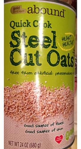 Gold Emblem Abound Quick Cook Steel Cut Oats - 0 g