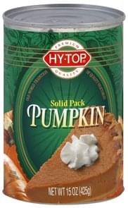 Hy Top Pumpkin Solid Pack